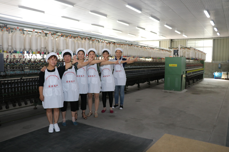 泽天针织竹节纱在细纱机长车上的开发运用