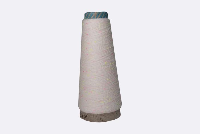 泽天彩点纱 花式纱 可加工定制 可染色 厂家直销