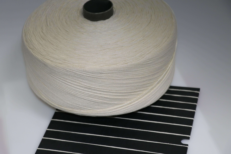 泽天1/3.3NM全棉带子纱 带子纱 花式纱 可加工定制 可染色 厂家直销