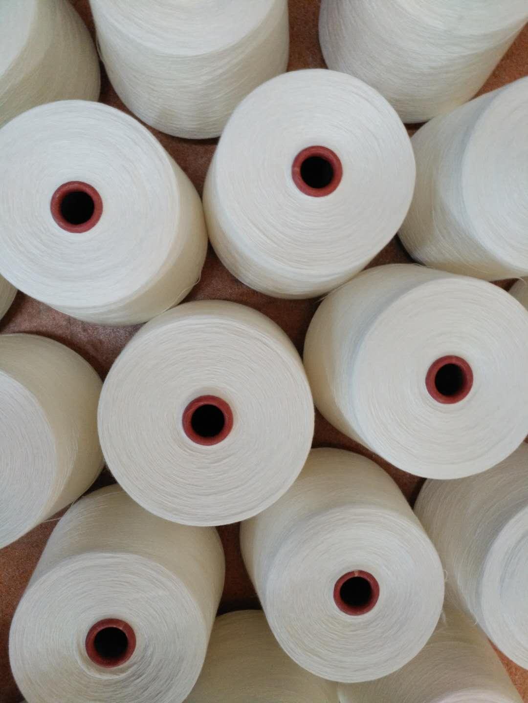 泽天8S纯粘胶环纺单纱 常规纱 可加工定制 可染色 厂家直销